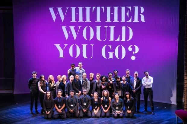 <p>Cast and members of the National Youth Theatre</p><br />© Dan Wooller for WhatsOnStage