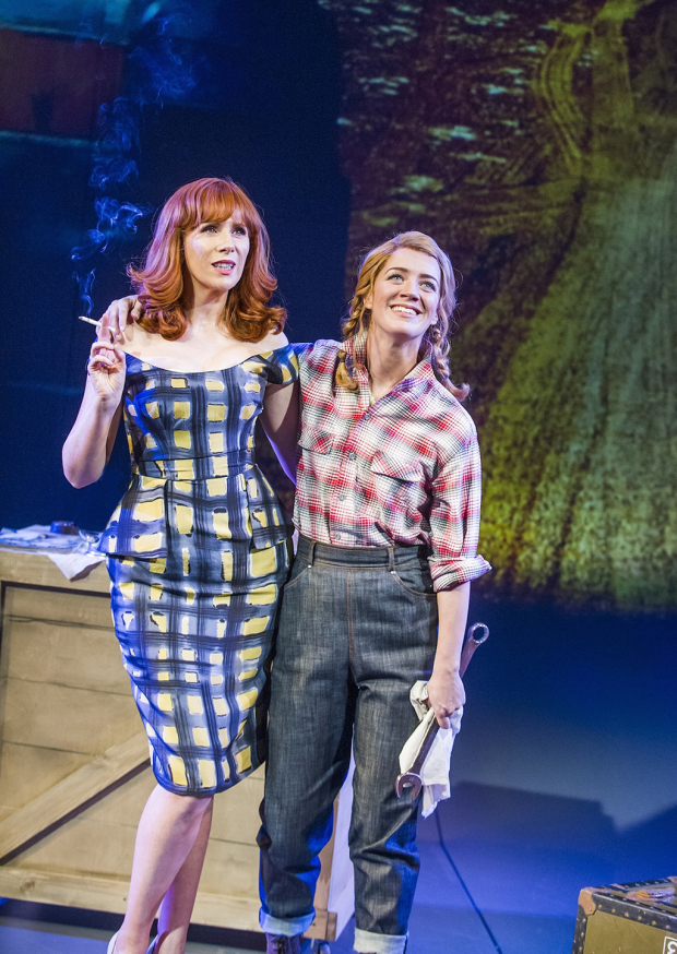 <p>Catherine Tate and Florence Andrews</p><br />© Tristram Kenton