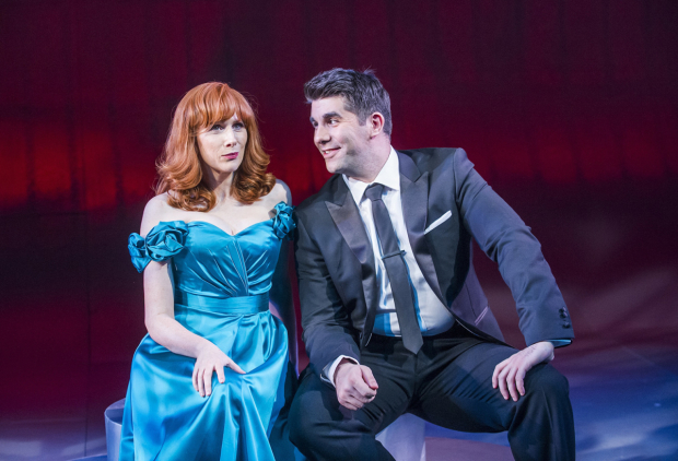 <p>Catherine Tate and Simon Lipkin</p><br />© Tristram Kenton