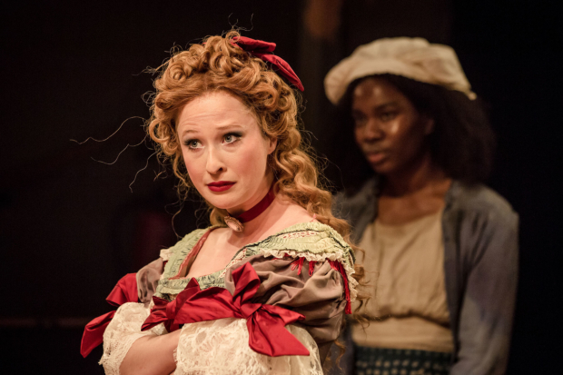 <p>Celeste Dodwell and Vivian Oparah in <em>An Octoroon</em> </p><br />©The Other Richard