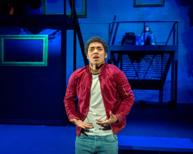 <p>Chance Perdomo as Theo in  <em>Ode to Leeds</em></p><br />© Anthony Robling