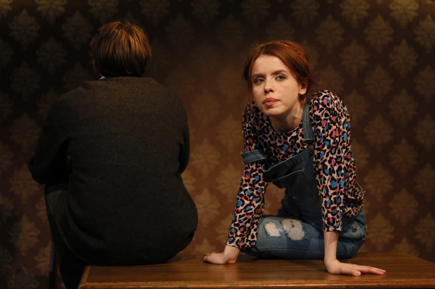 <p>Charles Reston (Adam) and Rosie Day (Izzy)</p><br />© Zue Lightfoot