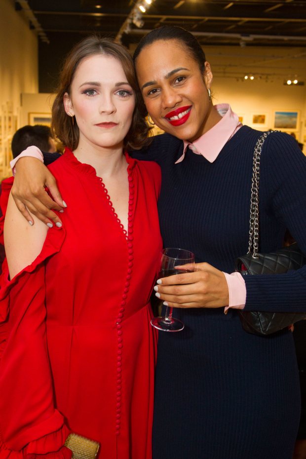 <p>Charlotte Ritchie (Celia) and Zawe Ashton</p><br />© Dan Wooller for WhatsOnStage