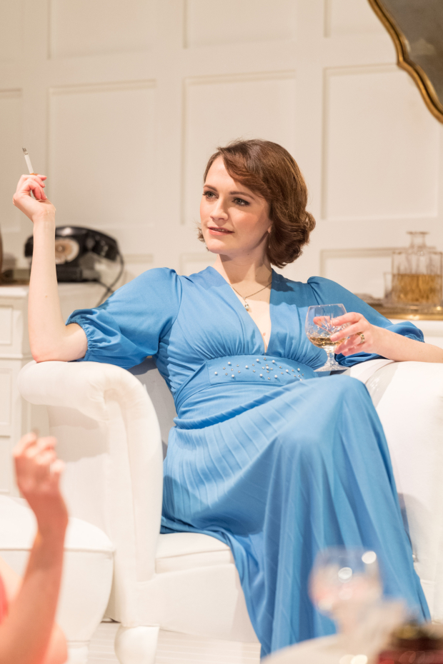<p>Charlotte Ritchie in <em>The Philanthropist</em></p><br />© Manuel Harlan