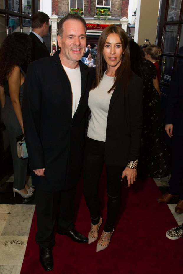 <p>Chris Moyles and Tiffany Austin</p><br />© Dan Wooller