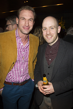 <p>Christian Jessen and Robert Hastie</p><br />Dan Wooller for WhatsOnStage