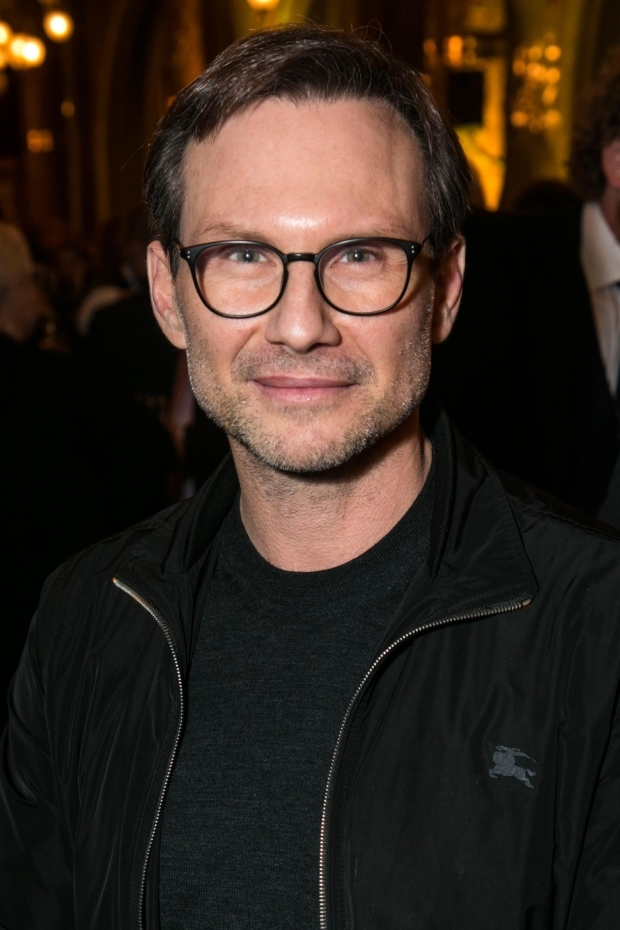<p>Christian Slater</p><br />© Dan Wooller for WhatsOnStage