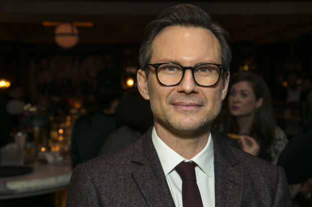 <p>Christian Slater (Ricky Roma)</p><br />© Dan Wooller for WhatsOnStage