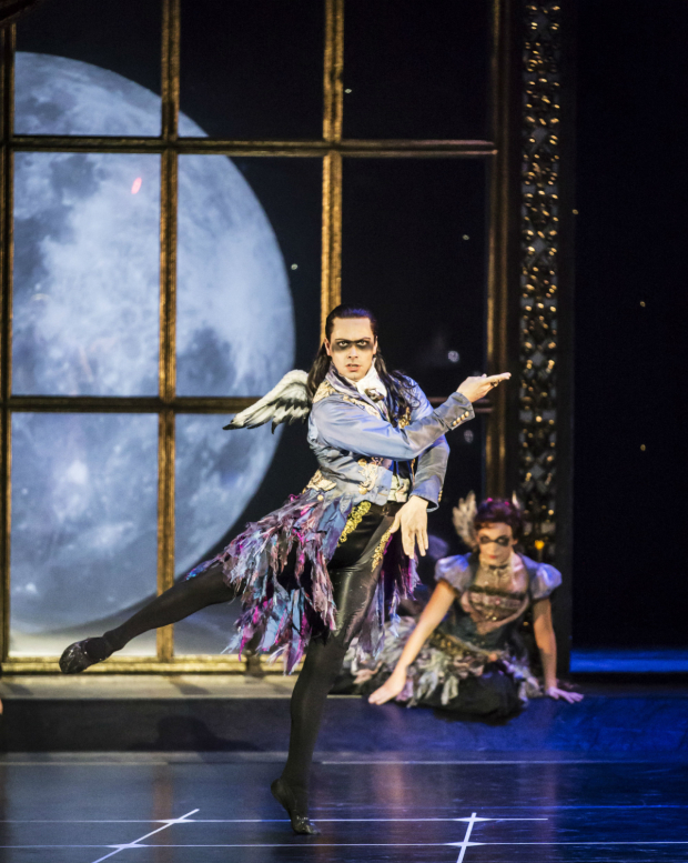 <p>Christopher Marney (Count Lilac) in Matthew Bourne&#39&#x3B;s <em>Sleeping Beauty</em>.</p><br />© Johan Persson