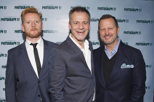 <p>Christopher Oram (Designer), Michael Grandage (Director) and Rob Ashford</p><br />© Dan Wooller for WhatsOnStage