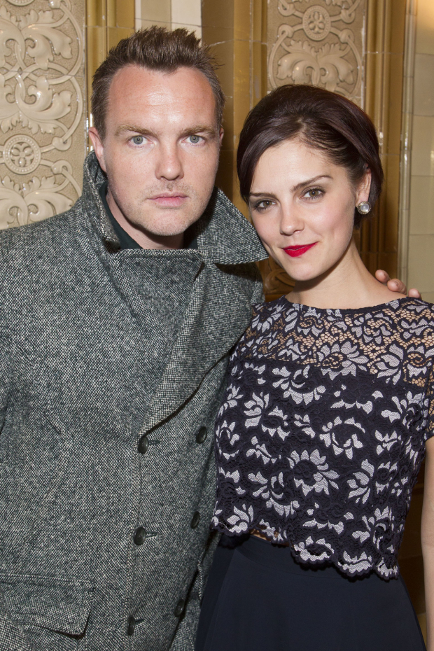<p>Ciaran McMenamin and Annabel Scholey (Liz Imbrie)</p><br />© Dan Wooller for WhatsOnStage