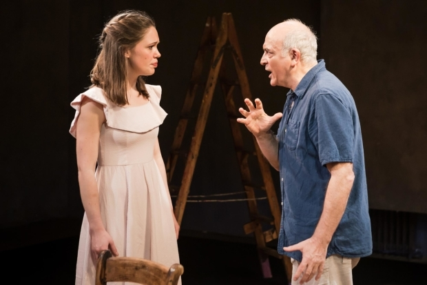 <p>Claire Bowman (Marie Therese Walter) Peter Tate (Picasso) in <em>Picasso</em></p><br />© Scott Rylander 2017