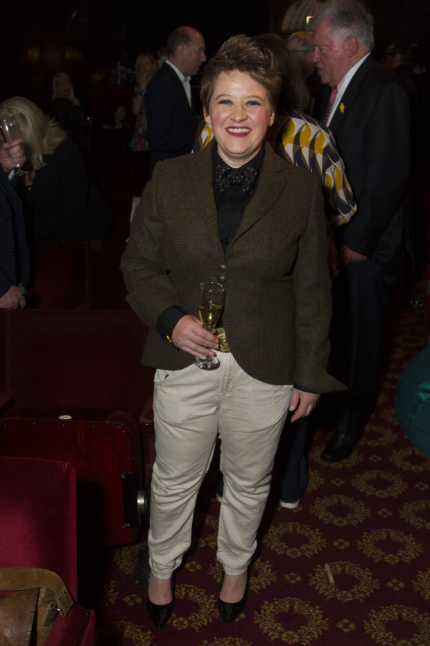 <p>Claire Machin (cora)C</p><br />© Dan Wooller for WhatsOnStage