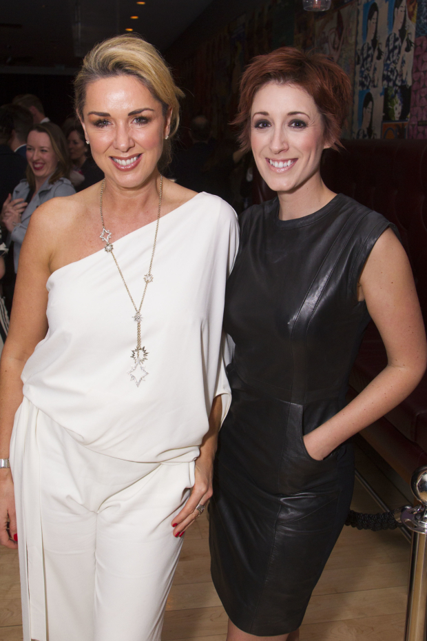 <p>Claire Sweeney and Connie Fisher</p><br />© Dan Wooller for WhatsOnStage