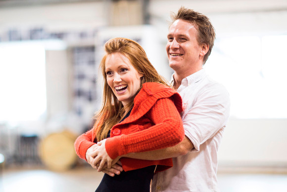 <p>Clare Foster and Jamie Parker</p><br />© Helen Maybanks