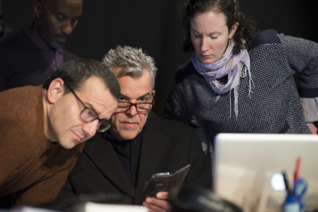 <p>Clint Dyer, Max Casella and Danny Huston </p><br />© Sarah Ainslie