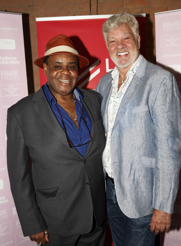 <p>Clive Rowe and Matthew Kelly</p><br />© Simon Annand