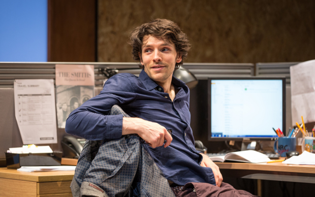 <p>Colin Morgan</p><br />© Marc Brenner