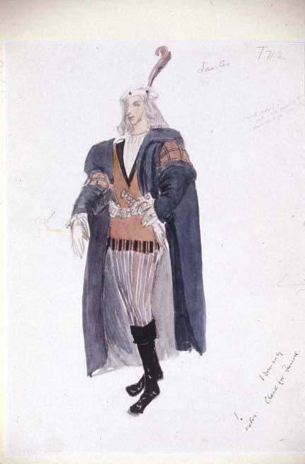 <p>Costume design for Laertes</p><br />© Flickr/Jeanetta Cochrane