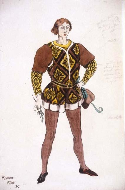 <p>Costume design for Romeo</p><br />© Flickr/Jeanetta Cochrane