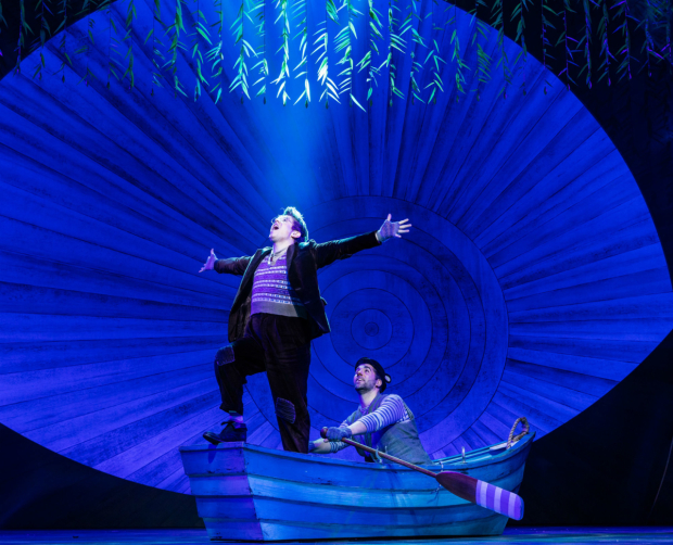 <p>Craig Mather (Mole), Simon Lipkin (Ratty) in <em>The Wind in the Willows</em> </p><br />Darren Bell