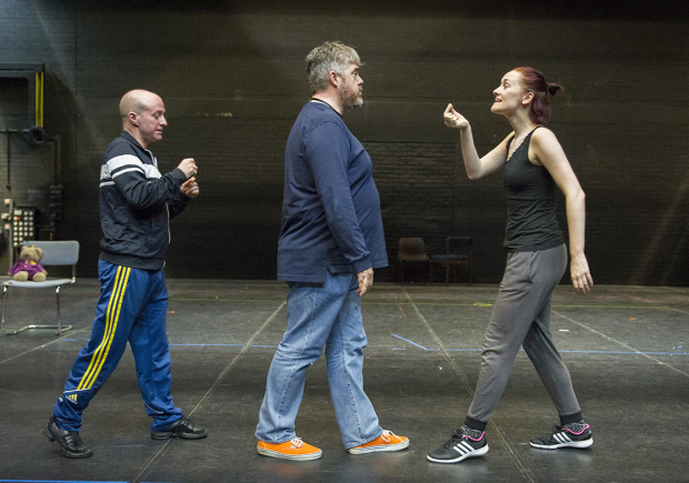 <p>Craig Turner, Phill Jupitus and Joanna Goodwin</p><br />© Alastair Muir