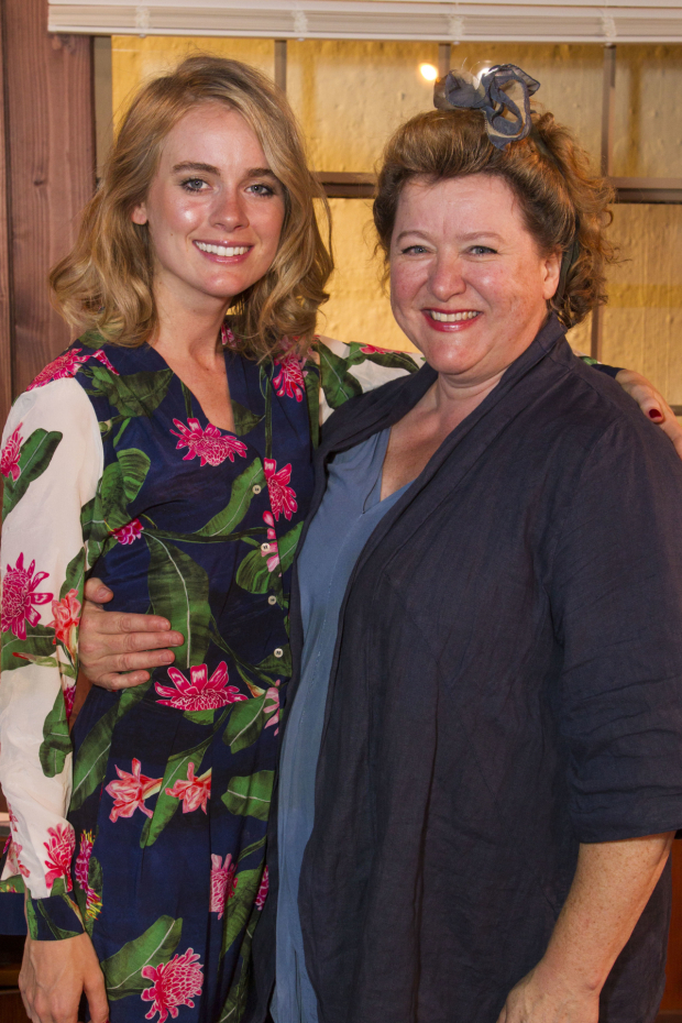 <p>Cressida Bonas (Sonia) and Rosie Ede (Nurse)</p><br />© �Dan Wooller for WhatsOnStage