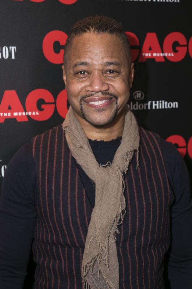 <p>Cuba Gooding Jr (Billy Flynn)</p><br />© Dan Wooller for WhatsOnStage