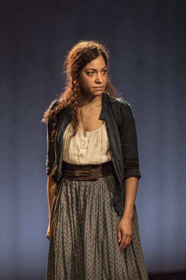 <p>Cush Jumbo in <em>Common</em></p><br />© Johan Persson