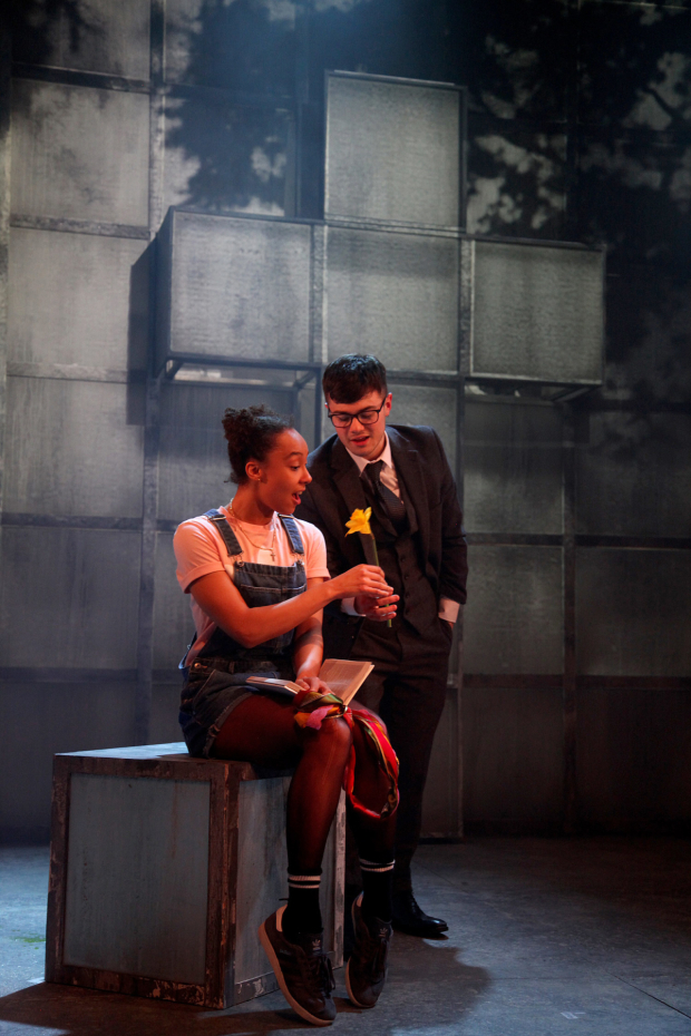 <p>Daisy Fairclough and Jacques Miche  in <em>Faust x2</em></p><br />© Philip Tull