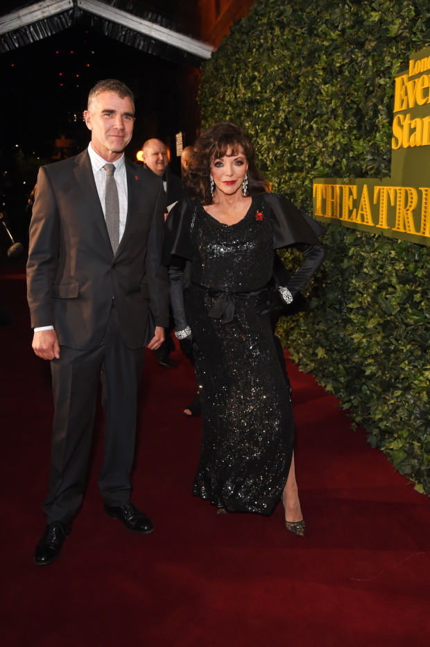 <p>Dame Joan Collins</p><br />© Dave Benett