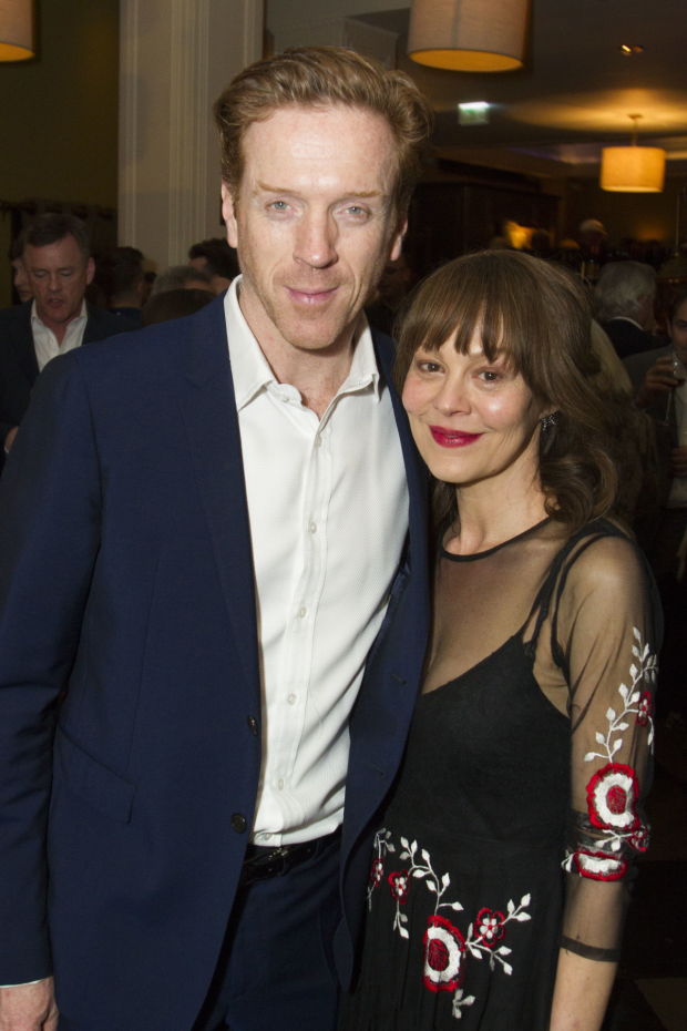 <p>Damian Lewis and Helen McCrory</p><br />© Dan Wooller for WhatsOnStage