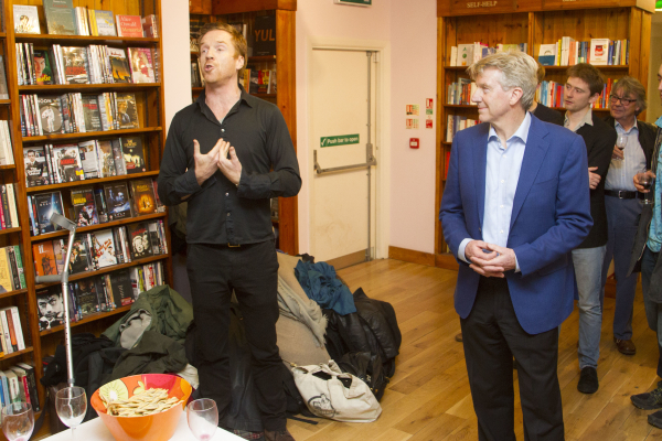 <p>Damian Lewis and Ken Rea</p><br />© Dan Wooller for WhatsOnStage