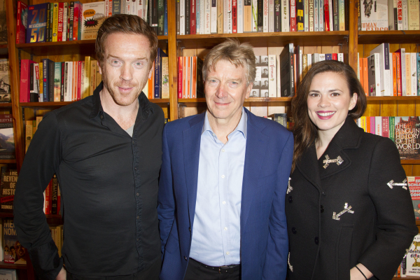 <p>Damian Lewis, Ken Rea and Hayley Atwell</p><br />© Dan Wooller for WhatsOnStage