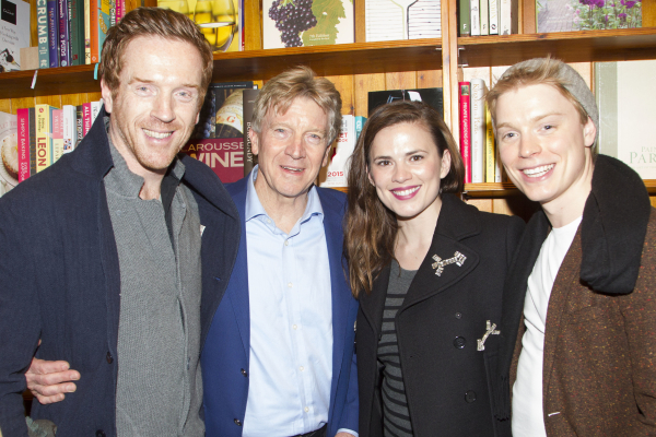<p>Damian Lewis, Ken Rea, Hayley Atwell and Freddie Fox</p><br />© Dan Wooller for WhatsOnStage