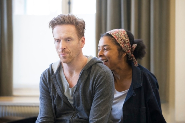 <p>Damian Lewis (Martin) and Sophie Okonedo (Stevie)</p><br />© Johan Persson