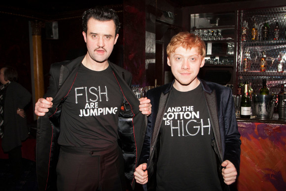 <p>Daniel Mays and Rupert Grint</p><br />© Dan Wooller for WhatsOnStage