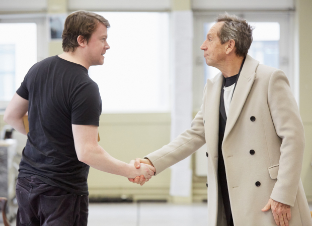 <p>Daniel Rigby and Jonathan Hyde</p><br />© Mark Douet