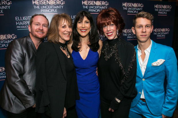 <p>Daniel Sparrow (producer), Jana Robbinss (producer), Catherine Schreiber (producer), Merrie l Brown (producer) and Ramin Sabi (producer)</p><br />© Dan Wooller for WhatsOnStage