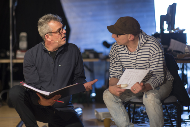 <p>Danny Huston and Simon McBurney</p><br />© Sarah Ainslie