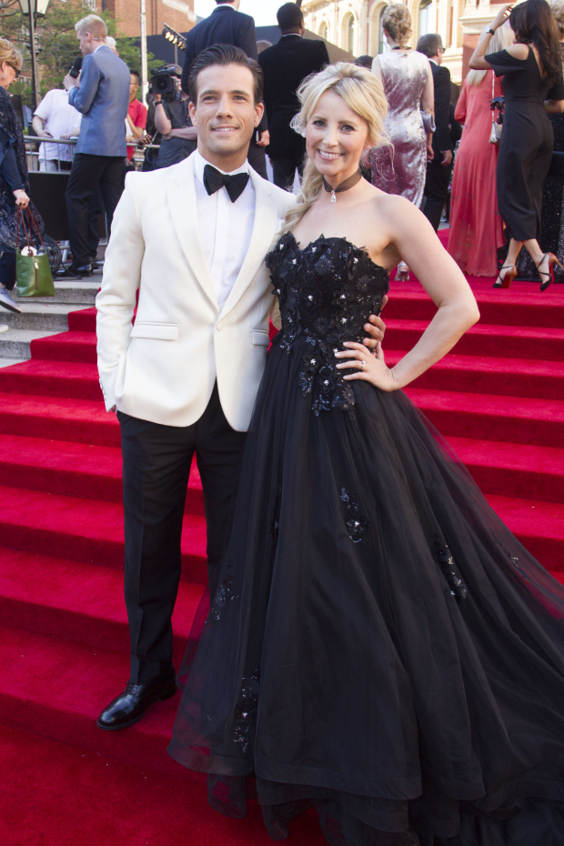 <p>Danny Mac and Carley Stenson</p><br />© Dan Wooller for WhatsOnStage