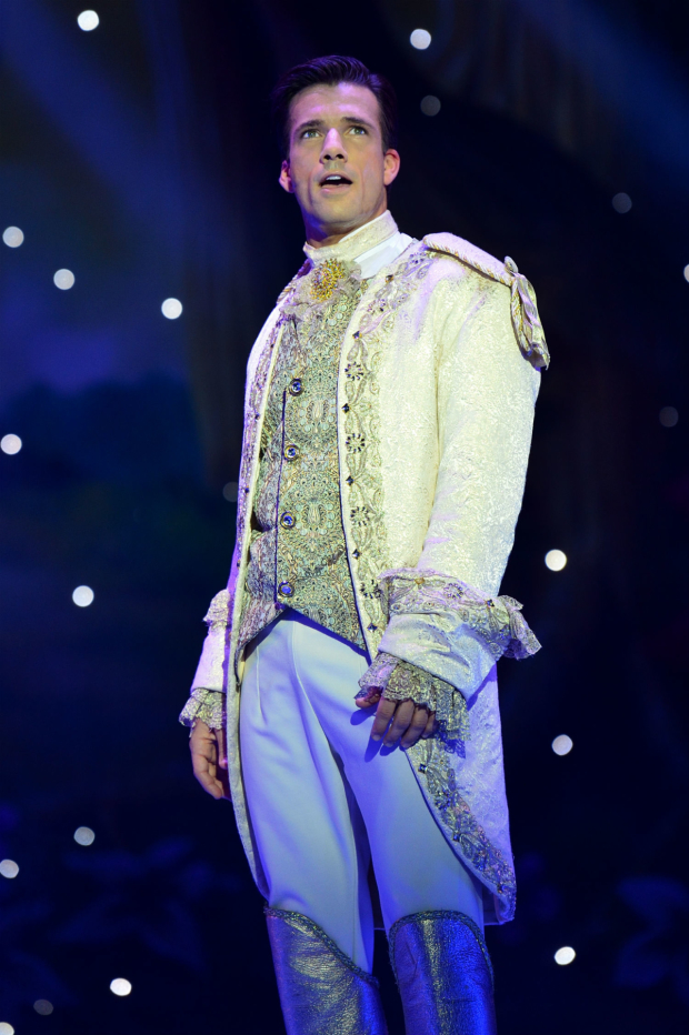 <p>Danny Mac as Prince Charming  in <em>Cinderella</em></p><br />(C) Paul Coltas