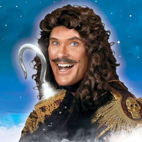 <p>David Hasselhoff wil play Captain Hook in the Theatre Royal Nottingham&#39&#x3B;s production of <em>Peter Pan, alongside</em> <em>Hi-de-Hi</em> star Su Pollard. The Hoff is no stranger to the part, having previously played it in Manchester and Bristol.</p>