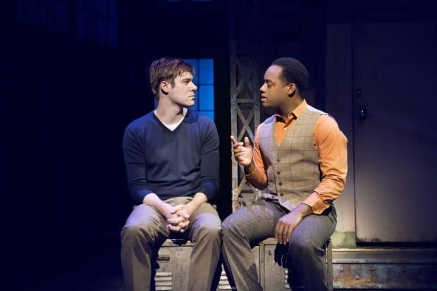 <p>David Hunter (Charlie Price) and Simon-Anthony Rhoden (Lola)</p><br />Matt Crockett