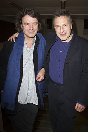 <p>David Leveaux (director) and Patrick Marber (author)</p><br />© Dan Wooller for WhatsOnStage