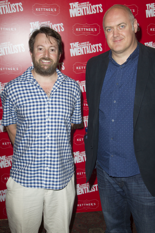 <p>David Mitchell and Dara O&#39&#x3B;Briain</p><br />© Dan Wooller for WhatsOnStage