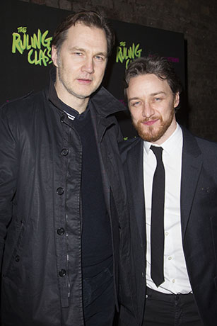 <p>David Morrissey and James McAvoy</p><br />Dan Wooller for WhatsOnStage