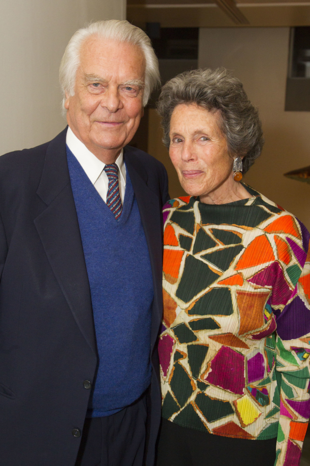 <p>David Owen and Debbie Owen</p><br />© Dan Wooller for WhatsOnStage