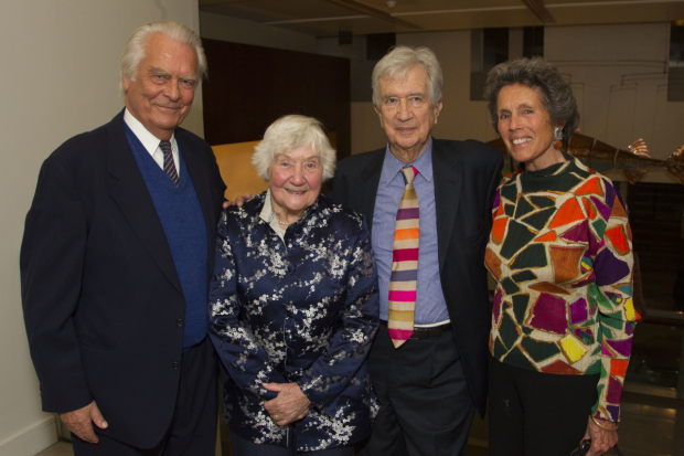 <p>David Owen, Shirley Williams, Bill Rodgers and Debbie Owen</p><br />© Dan Wooller for WhatsOnStage