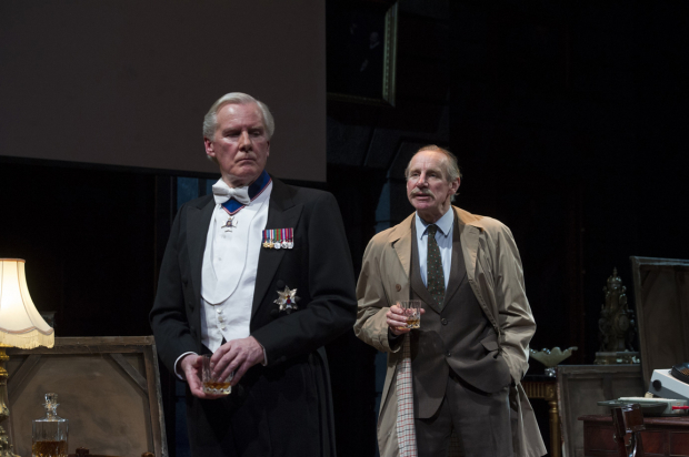 <p>David Robb and Nicholas Farrell</p><br />© Alastair Muir